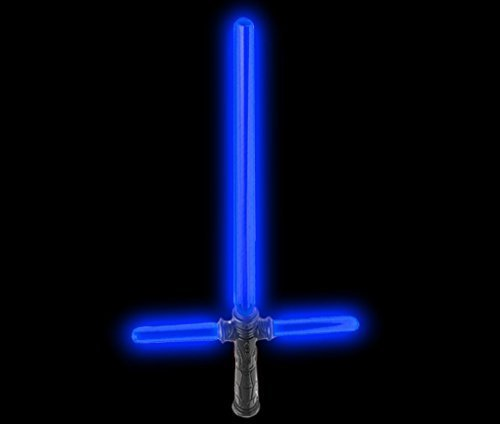Fun Central AU490 LED 27 Inch Tri-Saber with Sound - Blue ()