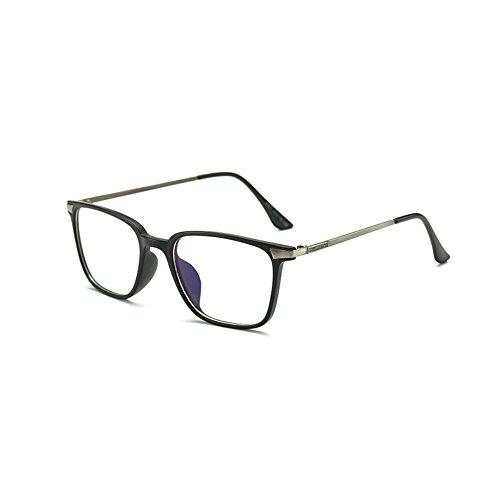 Price comparison product image Teddith Computer Reading Glasses Anti Blue Light Anti Glare Scratch Resistant (Black)