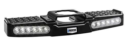 Lighted Hitch Cover - Reese Towpower 7065300 Lighted LED Hitch Step