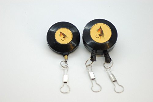Olax 2 Pieces Zinger, Pin on Reel, For Fly Fishing, Carp and Coarse Fishing