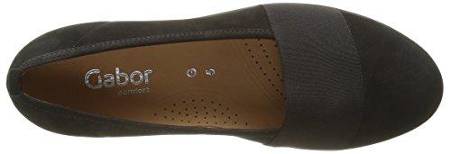 Gabor Shoes Comfort Basic, Zapatos de Tacón para Mujer Negro (Schwarz Schwarz)