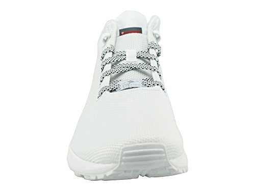 adidas White ZX Men Flux Shoes Sneakers 5 8 qqzUwHr