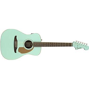Amazon.com: Fender Malibu Player - California Series Acoustic Guitar ...