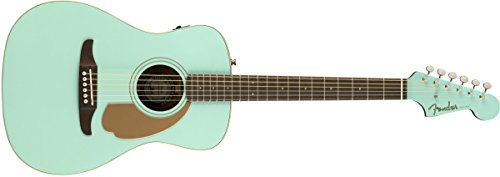 Fender Malibu Player – California Series Acoustic Guitar – Aqua Splash