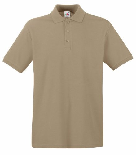 Fruit Of The Loom Premium Polo XXL,Khaki