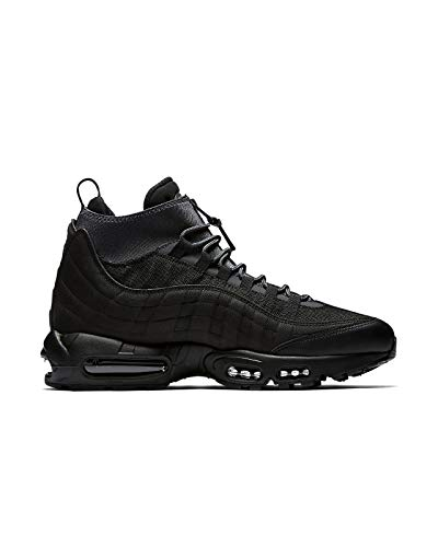NIKE Mens Air Max 95 Sneakerboot Black/Black/Anthracite/White 806809-001 Size - Nike Air Classic Max Bw