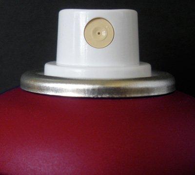 red matte spray paint - 6
