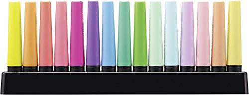 Stabilo Boss Original Highlighter Deskset of 15 Assorted Colours - Limited Edition (Limited Edition) ()