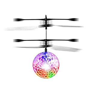 RC infrared Induction Helicopter Ball Built-in Shinning LeD Lighting