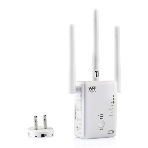 W· Z 802.11AC 750Mbps WiFi Repeater/AP/Router With Three External WiFi Antenna &Power Management/WiFi Range Extender/WiFi Signal Booster WANZHOU