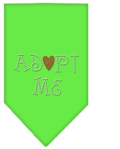 Adopt Me Rhinestone Bandana Lime Green Large (24 Pack) [Misc.] by None