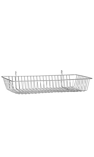 - Chrome Mini Wire Grid Basket for Wire Grid - 24