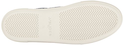 J Slides Jslides Womens Amberr Fashion Sneaker Navy