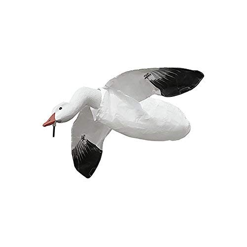 White Rock Decoys Deck Boss Flying Snow Goose Decoy FLYSG