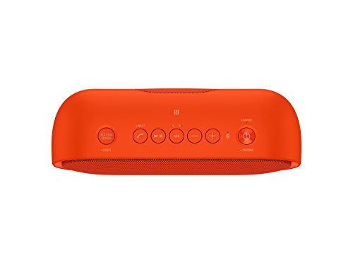 Sony XB20 Portable Wireless Speaker with Bluetooth, Red (2017 model)