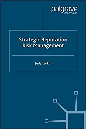 managing risks to reputation from theory Managing reputational risk: curbing threats, leveraging opportunities [jenny rayner] on amazoncom free shipping on qualifying offers managing reputational risk  shows how any organisation can apply simple risk management principles to build stakeholder confidence and safeguard and enhance reputation.