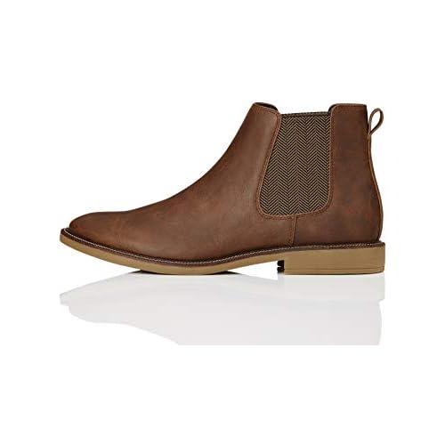 chollos oferta descuentos barato find Marsh Botas Chelsea Marrón Tan Leather Look 39 EU
