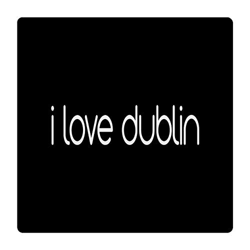 Makoroni - I Love Dublin Ceramic Tile Trivet 6X 6 (Tiles Dublin Ceramic)