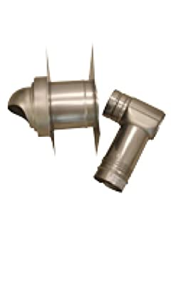 Noritz VK4-H-14-1 Single-Wall Horizontal Termination Vent Kit for Thick Wall