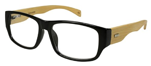 Edge I-Wear Bamboo Reading Glasses, Presented by