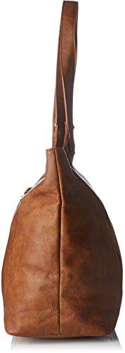 Le Temps des Cerises Phoenix 4 - Borse Tote Donna, Marron (Cognac), 26x44x16.5 cm (W x H L)