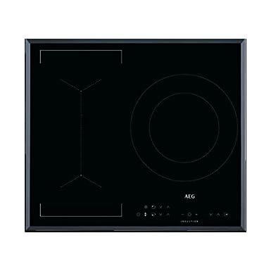 AEG IKB63341FB hobs Negro Integrado Con - Placa (Negro, Integrado, Con placa de inducción, 3200 W, 21 cm, 3700 W)