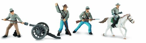 Safari Ltd  Designer TOOBS Civil War Confederate Soldiers Collection #2