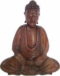 Wood Buddha Carving
