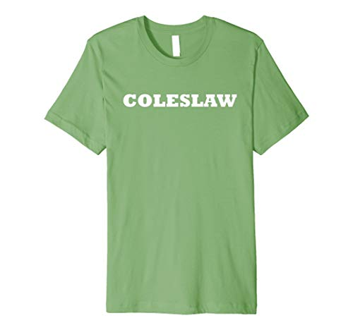 Coleslaw Food Halloween Costume Party Funny Cute T Shirt -