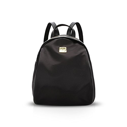 Female Black NICOLE Backpack Durable Polyester Rucksack amp;DORIS Casual School Bag Teenager 1qgx7wTF