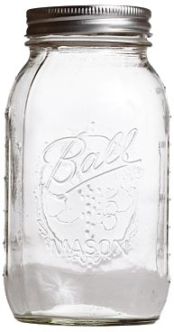 Dress My Cupcake 16-Ounce Bulk Mason Ball/Cookie Jars, Case of 12