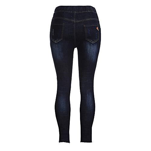 Pregnant Woman Ripped Jeans Maternity Women Elastic Pants Trousers Nursing Legging TM Bimmer