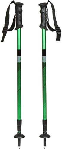 DENALI Hiking and Trekking Poles By Denali Outdoor Gear – Anti-Shock Durable Aluminum Poles for Hiking Walking Trekking for Men and Women – 1 Pair