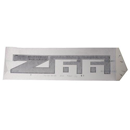 Quarter Panel Decal - OEM NEW Exterior Quarter Panel Z66 Decal 2002-2005 Avalanche 1500 2500 15082432