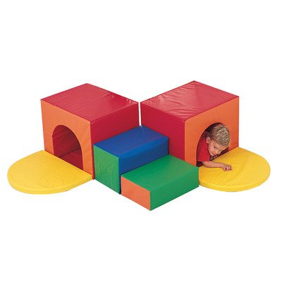 Primary Corner Tunnel Climber by Children's Factory