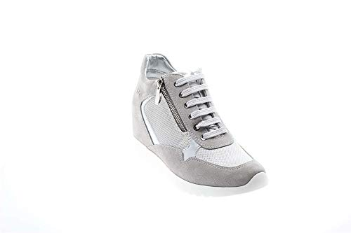 Sneakers 003 W36205 N72 35 Lumberjack Donna co002 Argento qIw55