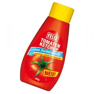Felix salsa de tomate sin adición de azúcar - 960gr