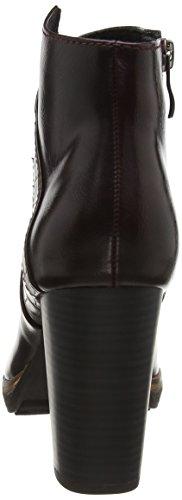 Marco Tozzi Women's 25824 Ankle Boots Red (Bordeaux A.c. 542) MnLVkz