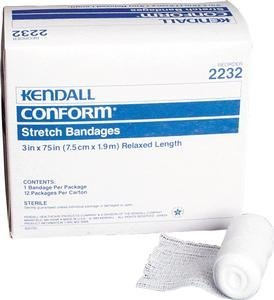(6 X 82 Conform, 12 Rolls, Sterile by Kendall/Covidien)