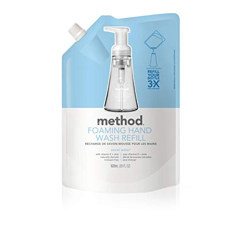 (Method Foaming Hand Soap Refill, Sweet Water, 28 Ounce (Pack 6))