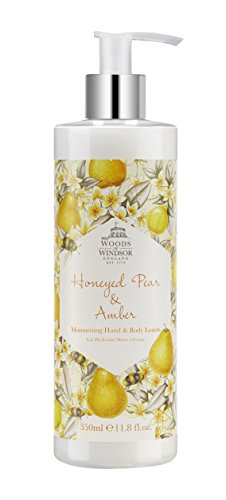 Yardley London Woods of Windsor Honeyed Pear and Amber Moisturising Hand and Body Lotion 350 ()