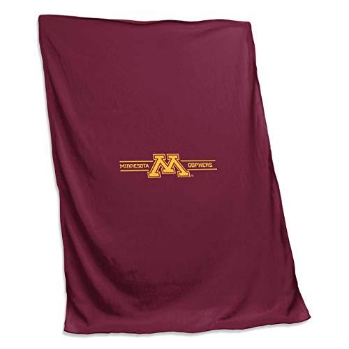 Fleece 54 Sweatshirt Blanket - Logo Minnesota Golden Gophers NCAA 54 X 84 Fleece Sweatshirt Blanket - Team Color,