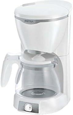 Petra Electric KM 601.00 - Cafeteras de goteo, Apagado automático, 1000 W, color blanco: Amazon.es: Hogar