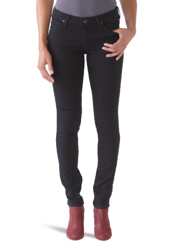 Lee noir Black pitch Jeans Donna Scarlett Nero vqPvprRwO