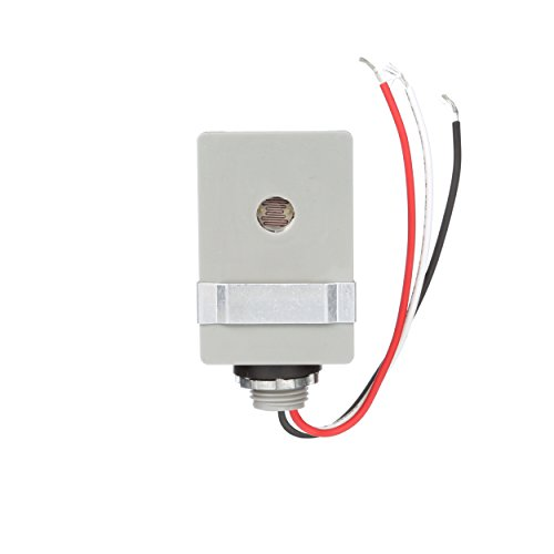Cell Switch - Woods 59410WD Outdoor Hardwired Stem Mount Light Control Sensor with Photocell