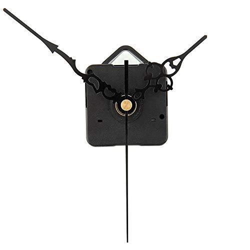 (Clock Parts & Accessories - Diy Quartz Clock Movement Mechanism Repair With Hands Black - Clock Clockwork Quartz & Clock Movement Movement Cmk Clock Dial Of Wall 12888 Clock Movement Watch Brand)