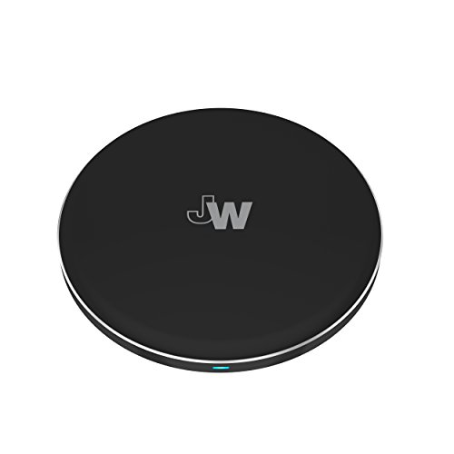 Just Wireless Charger Qi Phone - iPhone XS XR, 8, Plus Android Black