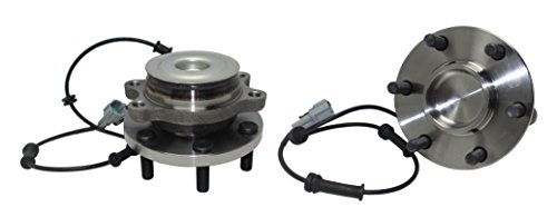 Detroit Axle - 2WD Brand New (Both) Front Wheel Hub and Bearing Assembly for 05-16 Nissan Frontier 2WD -[05-12 Pathfinder 2WD] - 05-15 Xterra 2WD - [09-12 Equator 2WD] 6 Bolt W/ABS (Pair) 515064 x2