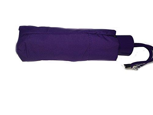 Coach Signature Mini Umbrella Purple Iris F63690