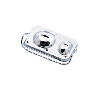Cover Brake Cylinder (Mr. Gasket 5271 Chrome Plated Master Cylinder Cover)